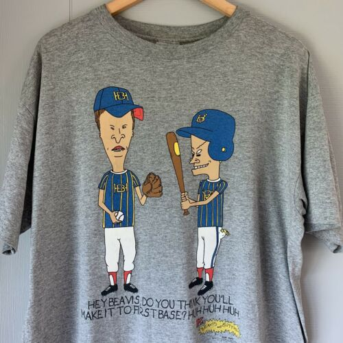 Vintage 90s Beavis and Butthead t shirt