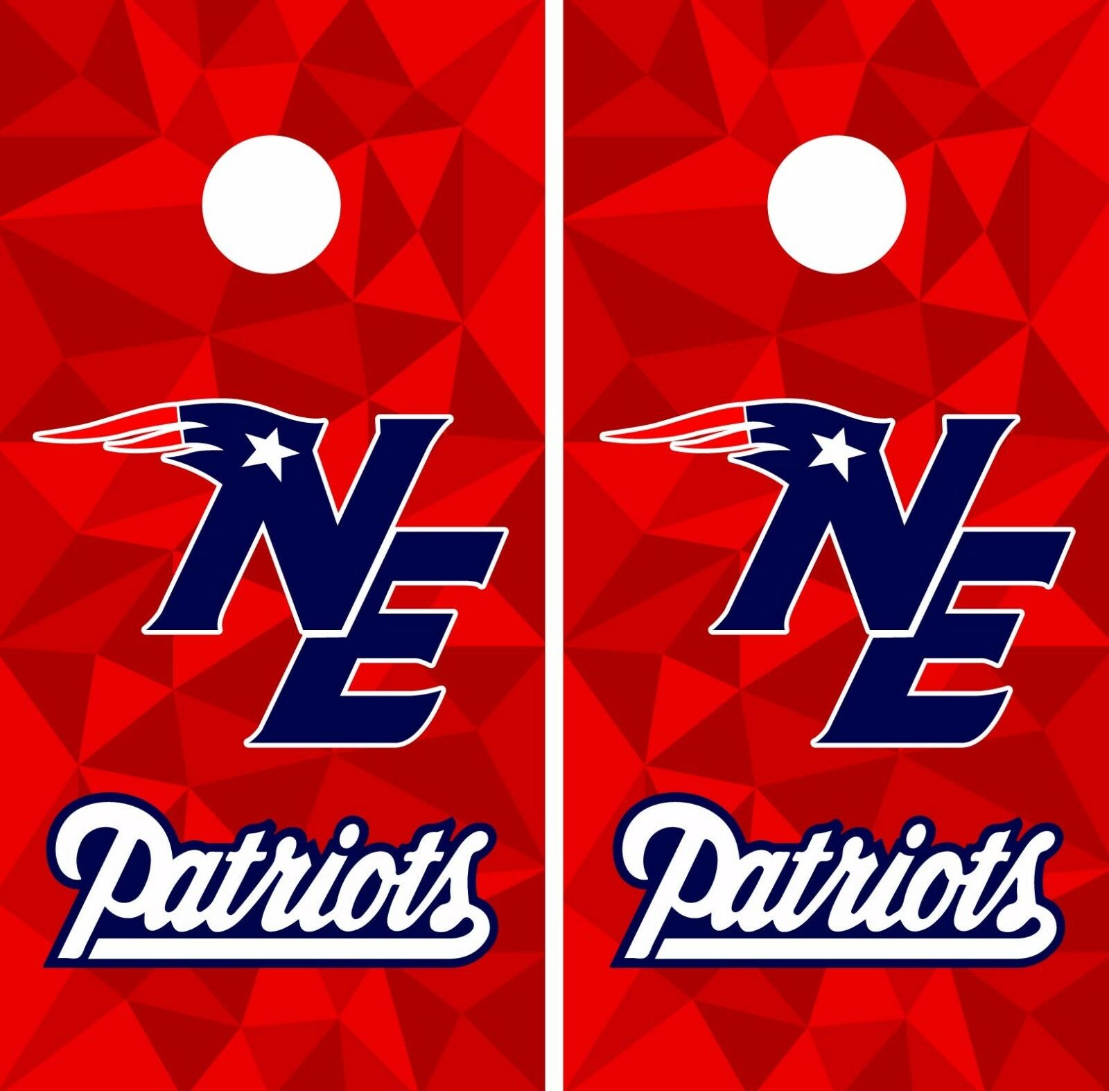 New England Patriots  Cornhole Skin Wrap NFL Football Art Decor Vinyl Decal DR57  no tax