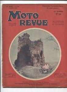 Bien Moto Revue N°543 ; 5 Aout 1933 : Moteur 2 Temps 3 Pages ,10 Croquis Haute Qualité