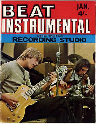BEAT INSTRUMENTAL Magazine No 81 Jan 1970 Keef Hartley Phil Spector Savoy Brown