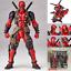 Quality-X-Men-Yamaguchi-Marvel-Revoltech-Kaiyodo-DEADPOOL-Action-Figure-Toy-Gift thumbnail 2