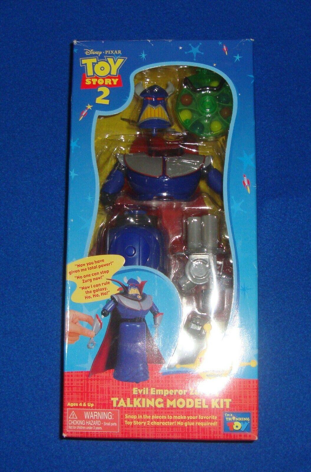 Toy Story 2 Evil Emperor Zurg Talking Model Kit NEW IN BOX