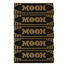 "5×50 sheets 70mm 1.0"" Moon Gold Flax Cigarette Tobacco Rolling Papers"