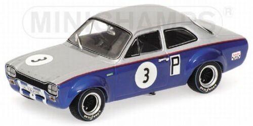 Minichamps 400688193 Ford Escort I TC 500km nurburgring 1968 1:43 nuevo embalaje original