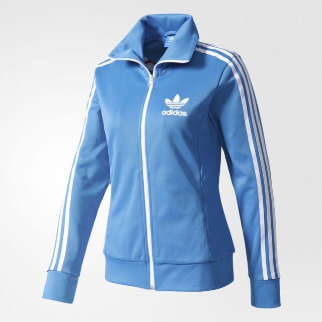 Pequeña adidas Originals  mujer 's Europa Track Top Jacket Reino Unido14 US 10
