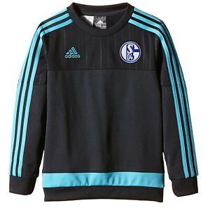 Adidas FC Schalke 04 Sweatshirt football Sport Loisirs Pull Pull ab2050