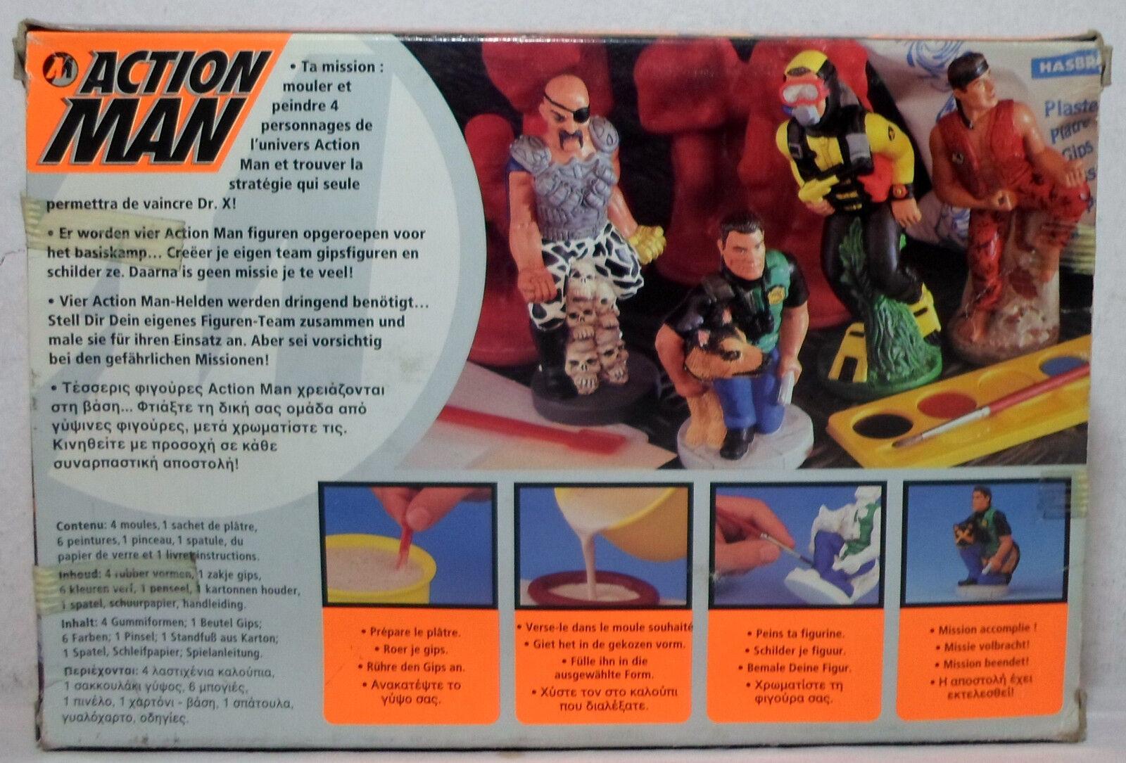 Hasbro 1997 Action Man Form Mal Set With 4 Figures European