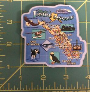Wood-Alaska-Magnet-Inside-Passage-Towns-and-Sights-Cruise-Ship-amp-sights