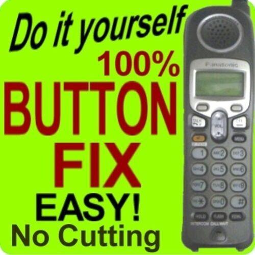 Panasonic Keypad Button Repair Fix KX-TG2357S KX-TGA2480S KX-TGA233 KX-TGA236