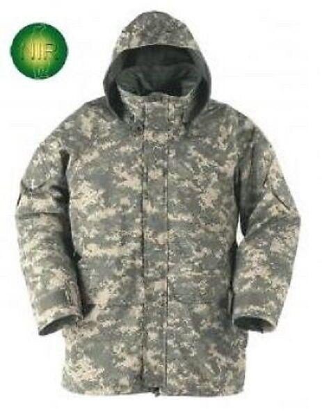 US Army Gen II APECS Ecwcs Acu Goretex UCP Chaqueta Parka LR Grande Regular