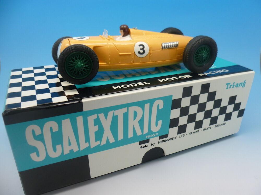 Scalextric C71 Auto Union Yellow No. 3