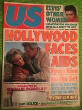 US 1985 Elvis Rock Hudson Linda Evans Tom Selleck Madonna Aids Virginia Madsen
