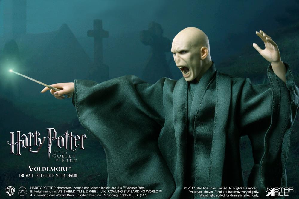 Precio al por mayor y calidad confiable. Estrella Ace Juguetes Harry Potter  el mortífero Brazalete Brazalete Brazalete de Lord Voldemort 1 8 Figura De Acción  Envío y cambio gratis.
