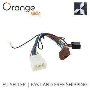 s l300 wiring harness adapter for mitsubishi lancer 2007 iso stereo plug  at n-0.co