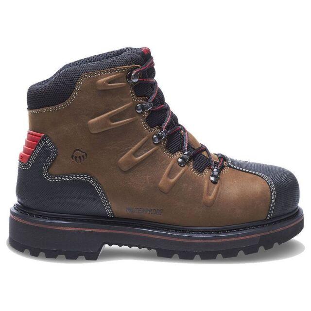 "328025f1dd8 Wolverine Men's 6"" Hacksaw Steel Toe Waterproof Puncture Resistant Boots  W10263"