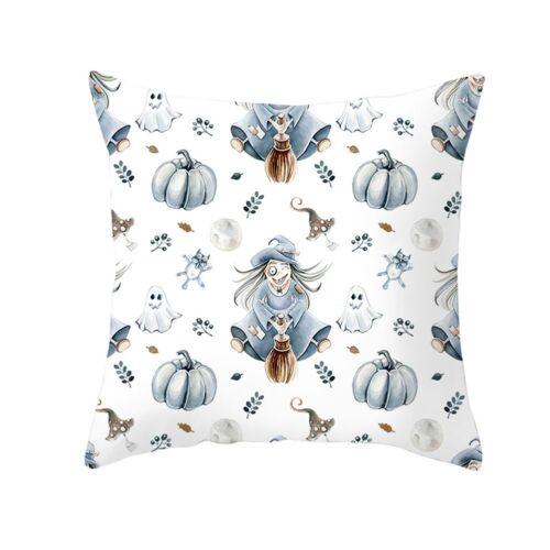 Fall Decoration Halloween Pumpkin Pillow Case Waist Throw Cushion Sofa Cover New
