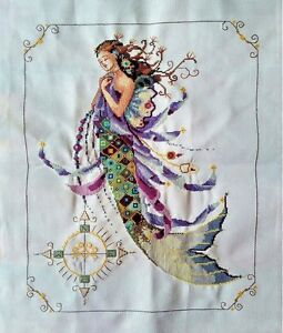 New-Finished-completed-cross-stitch-Needlepoint-034-MERMAID-034-home-decor-sale