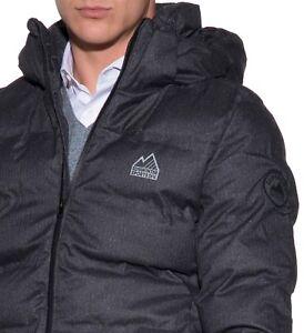 SUPERDRY M5009DP Men s Echo Quilt Jacket Puffer Bubble Coat Hoodie ... 33ed07ba7832