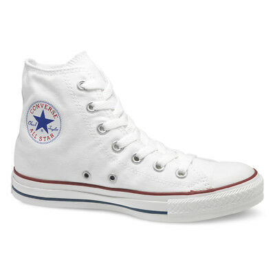 NEW Converse All Star Ox Hi Top Canvas Trainers White Black Grey UK Size 3-11