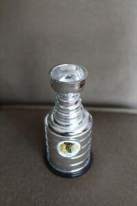 1999-2000 Labatt`s Mini Stanley Cup NHL Trophy Chicago Blackhawks