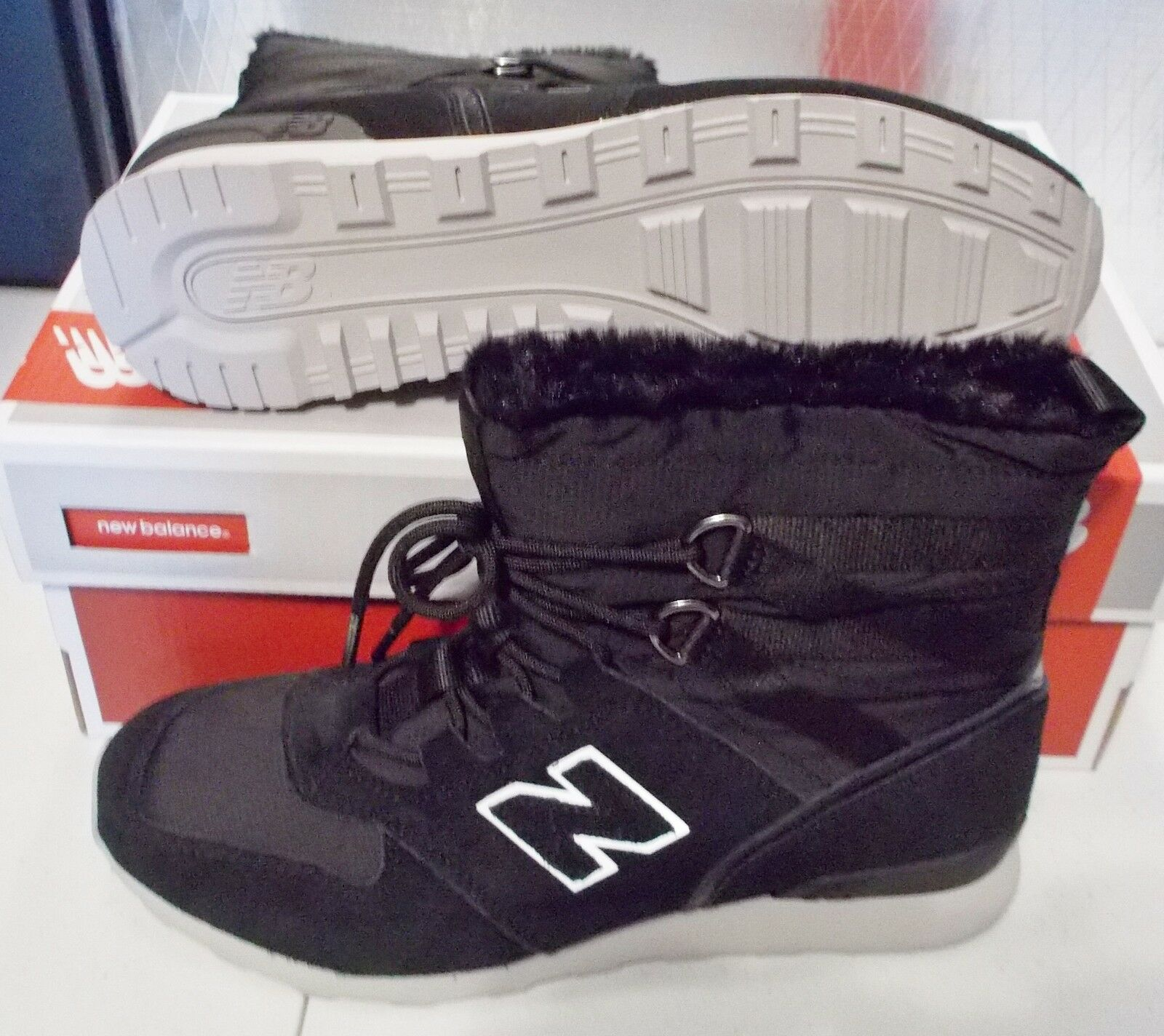 NEW BALANCE 510 Outdoor Sneaker Boot WOMENS B Medium Medium Medium Width Black  105 NIB bd9f2d