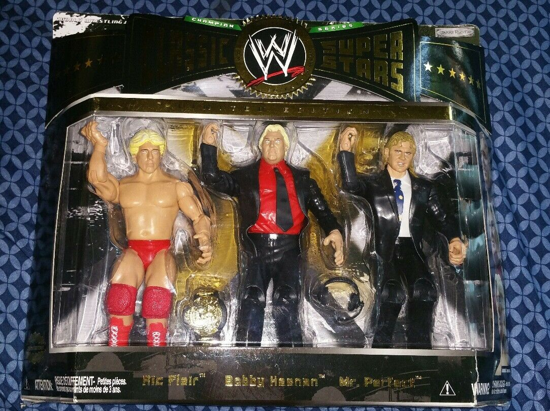 WWE Classic Superstars Collector Series  RIc Flair,  Bobby Heenan & Mr. Perfect