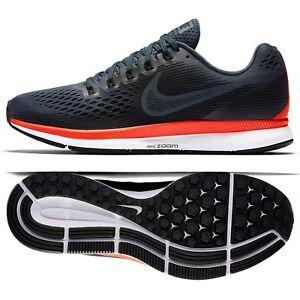 b8b5903c94b9 Nike Air Zoom Pegasus 34 880555-403 Blue Fox Crimson Men s Running ...