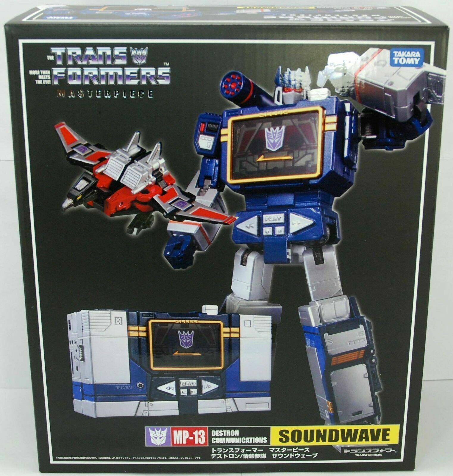 TRANSFORMERS Masterpiece MP-13 Soundwave & Laserbeak réédition   magasin fashional à vendre