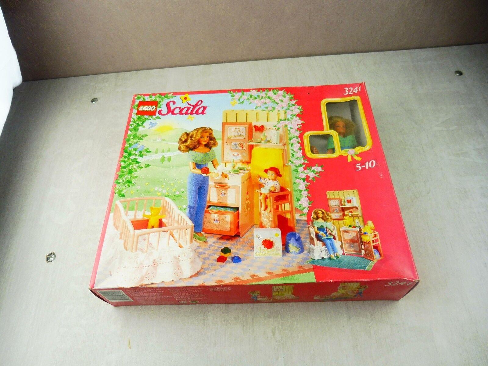 Boîte de Lego la la la chambre de bébé ref. 3241 Lego Scala vintage 9010a7