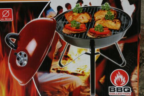 Barbacoa de carbón vegetal-BBQ Collection acero inoxidable 36 cm de diámetro