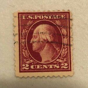 Rare-red-George-Washington-2-cent-Stamp