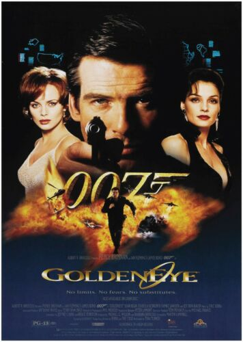 Goldeneye James Bond Classic Large Movie Poster Print