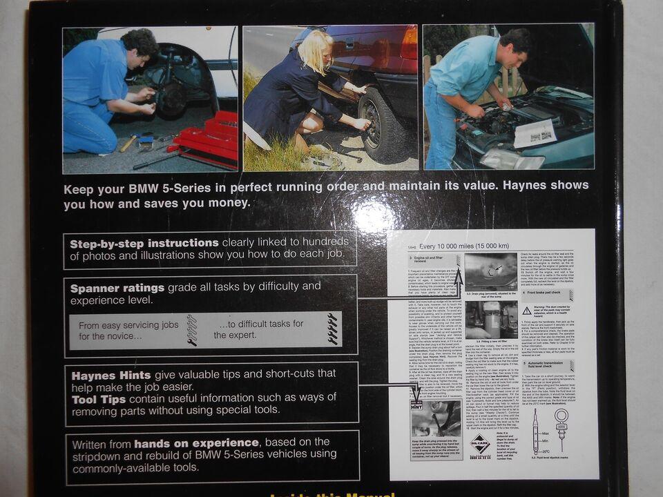 reparationshåndbog BMV, April 1996 til August 2003 6 cyl