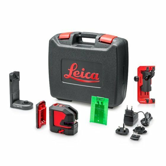 Leica Lino L2G G Cross Line Laser c w Rechargeable Battery