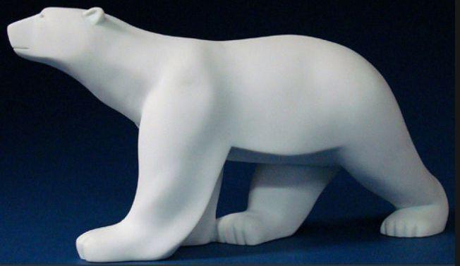 Orso Bianco Pile Gree modellolololo  67cm Pompon Arte Novità Collezione Museo  basso prezzo del 40%
