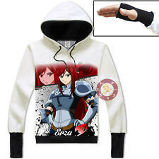 Anime Fairy Tail Erza Pullover Jacket Cosplay Hoodie Unisex Coat#GZ50
