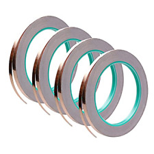4 Pack Copper Foil Tapedouble Sided Conductive With Adhesive For Emi