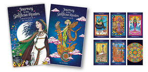 Journey to the Goddess Realm Oracle Fortune Divination Cards by Lisa Porter