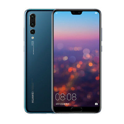 Huawei P20 Pro CLT-L29 Dual LTE 6GB RAM 128GB Blue ship from EU Authenti