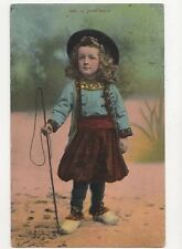 Jeune Breton France 1937 Postcard 273a