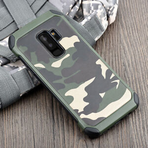 sports shoes 7ef58 a3efa Details about Armor Army Camo Camouflage Anti-knock Cover Case For Samsung  Galaxy S9 S9+ Plus