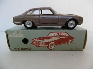 Solido Série 100 Alfa-romeo 2600 Bertone 1963 Bel État Boite D'origine