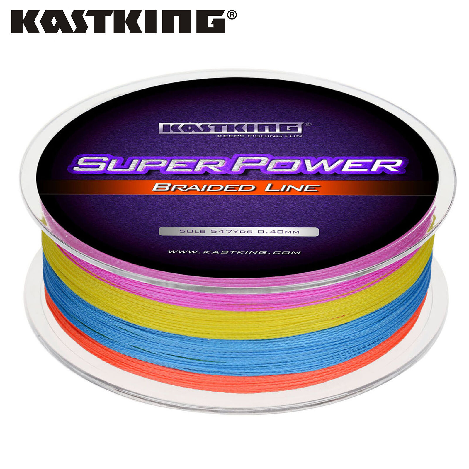 [UPGRADED] Kastre Superenergia Braided Fishing Line - Abrasion Resistant Braid