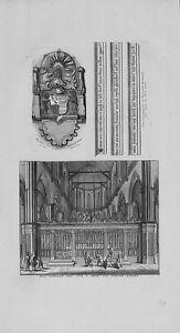 Antique-map-Het-koperen-hek-voor-039-t-choor-der-nieuwe-kerke