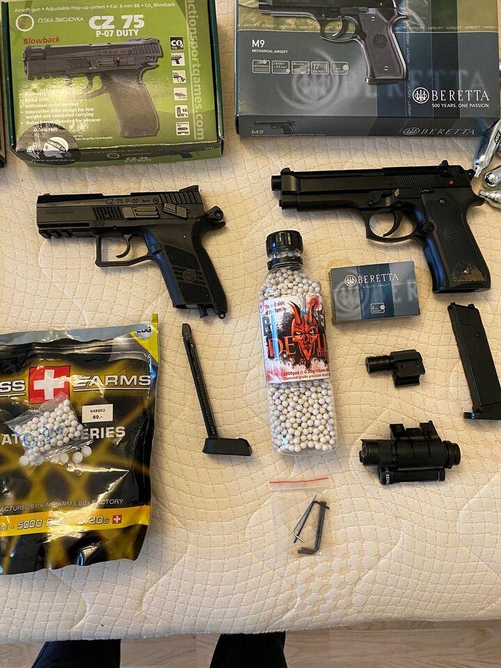 Softgun, Gunzone og billigleg