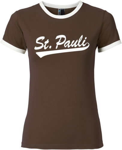ST PAULI Soccer Girl Shirt brown