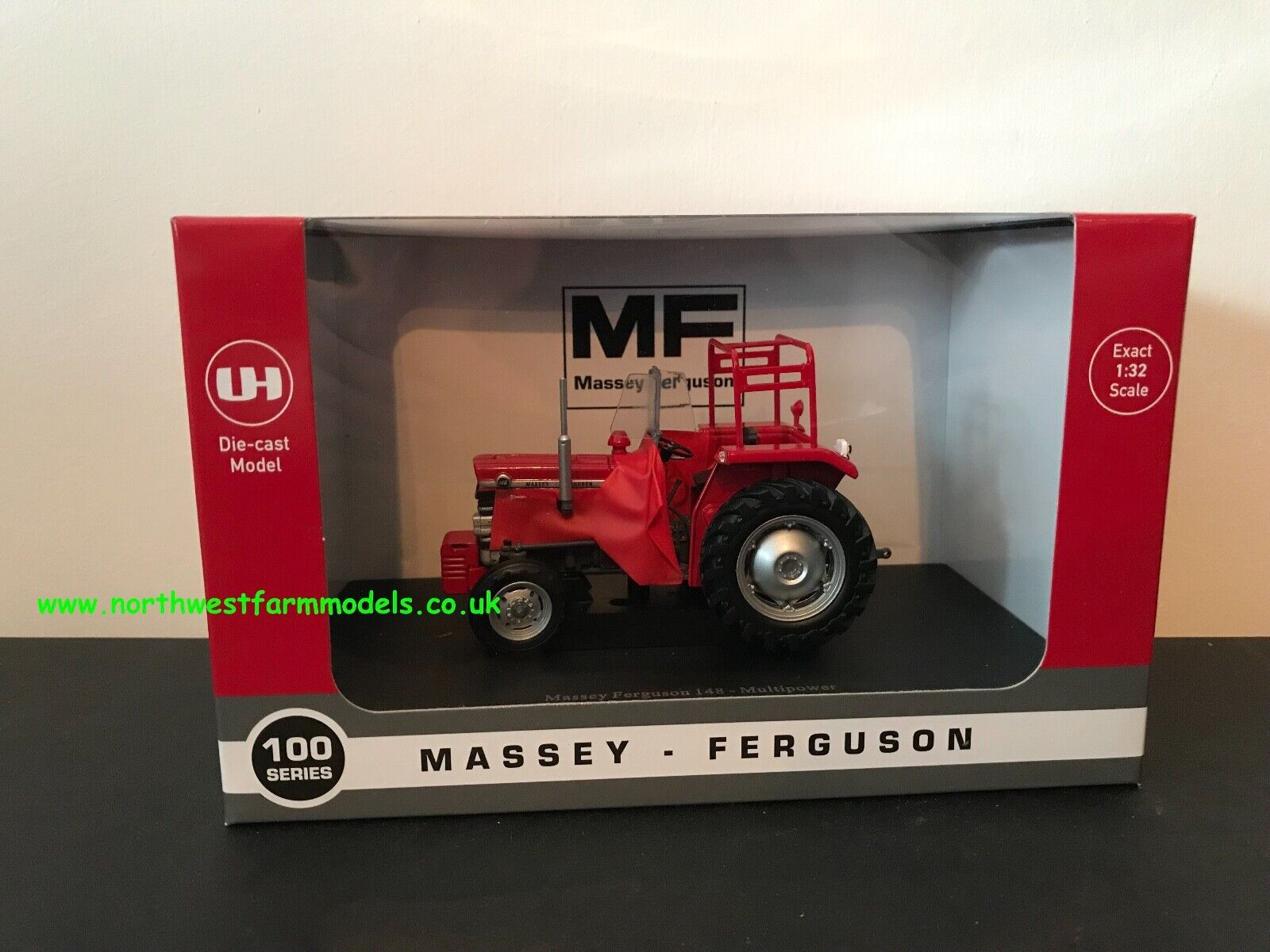 UNIVERSAL HOBBIES 5368 1 32 SCALE MASSEY FERGUSON 148 MULTIPOWER RED GIANTS
