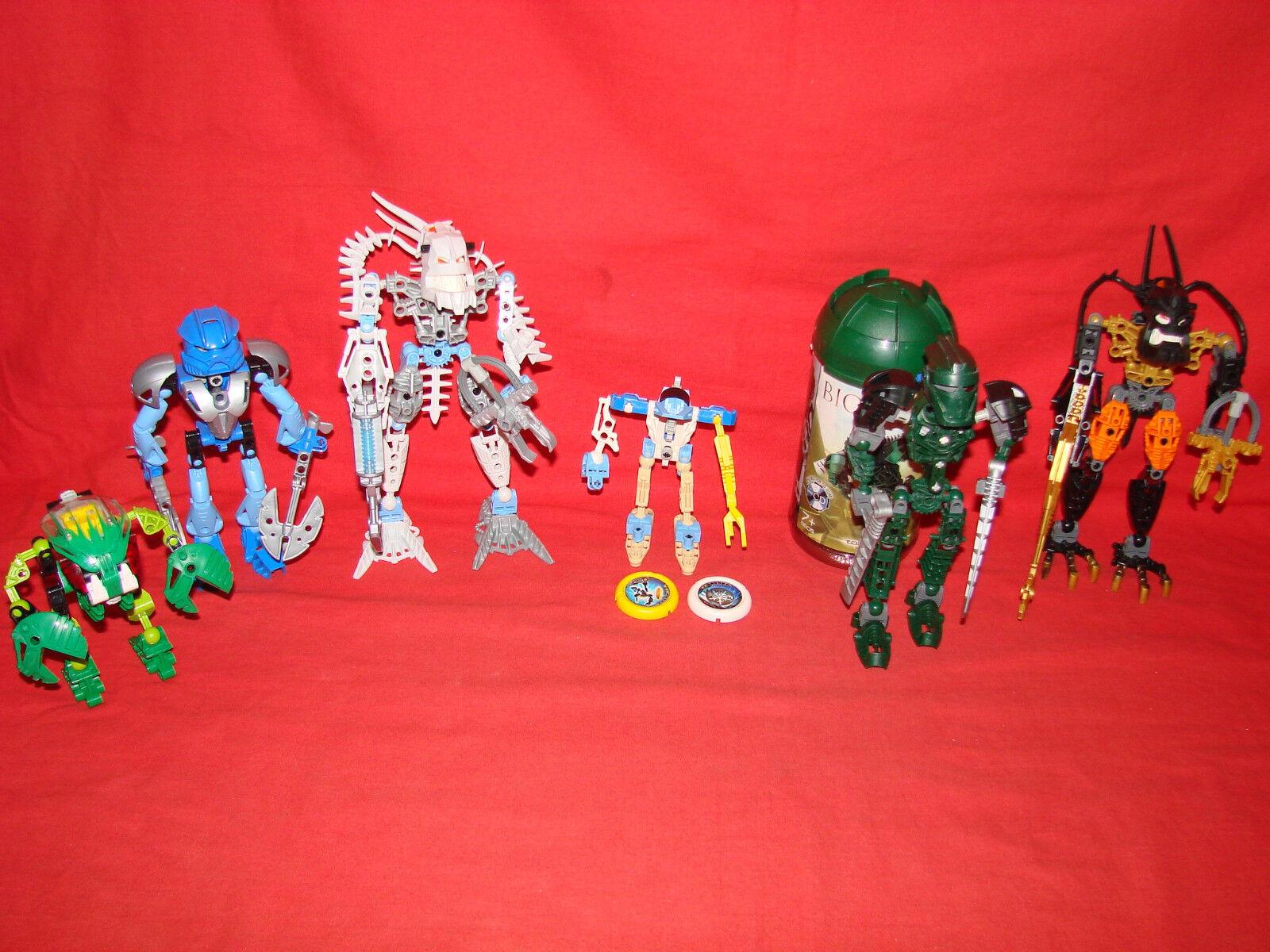 Lot de Lego Bionicle ref 8501     8564   8570   8605   8900   8905 - Jouet - Toy b9795e