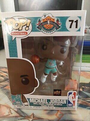 Semejanza Artístico perro  Funko Pop Michael Jordan 71 All-Star Weekend Exclusive Upper Deck The Last  Dance   eBay