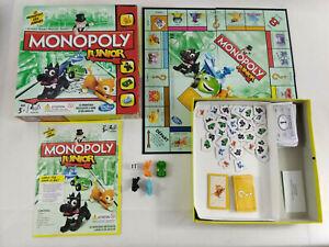 Jeu-Monopoly-Junior-incomplet-Envoi-rapide-et-suivi